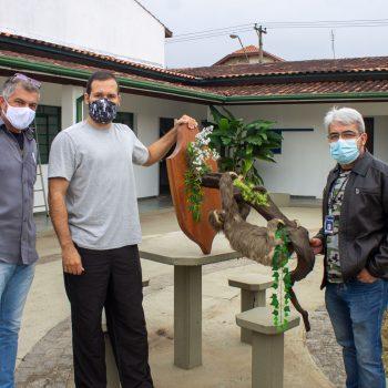Curso de Ciências Biológicas do UNIFATEA recebe doação de animais taxidermizados da Prefeitura de Guaratinguetá
