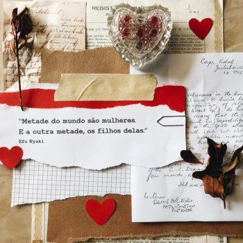 """""""Ser mãe é deixar de ser alguém no mundo para ser o mundo de alguém…"""", conta a professora Flávia Gabriela."""