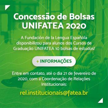 UNIFATEA abre seleção para 10 bolsas de estudos na Espanha