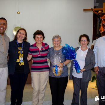 UNIFATEA recebe a visita da Inspetora Irmã Helena Gesser