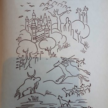 "Professor UNIFATEA relembra ilustração da Tarsila do Amaral para o poema ""Baladilha"