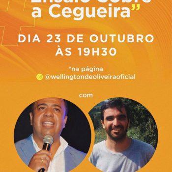 Estreia #DiálogosContemporâneos com Prof. Dr. Wellington de Oliveira