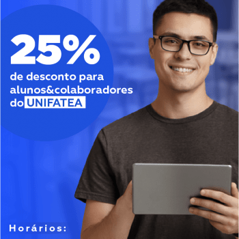 Parceria UNIFATEA & THE HOUSE oferece 25% de desconto nas mensalidades para curso de Inglês