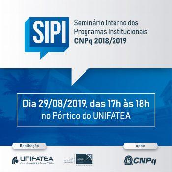Seminário Interno encerra a quota 2019 dos Programas PIBIC, PIBITI e PIBIC-EM – CNPq