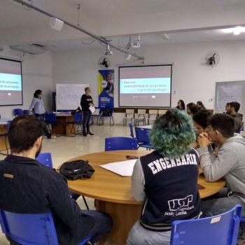 Professores UNIFATEA ministram palestra sobre Ecodesign na USP