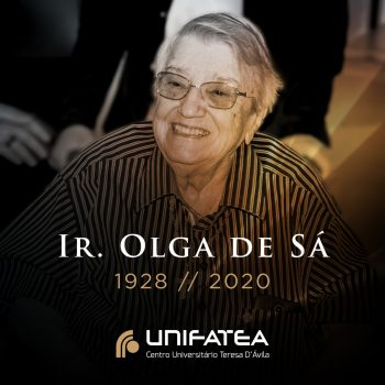 Faleceu hoje, aos 92 anos, Ir. Olga de Sá