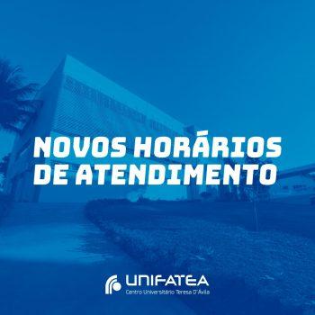 Novos horários de atendimento da Secretaria Acadêmica, anota aí!