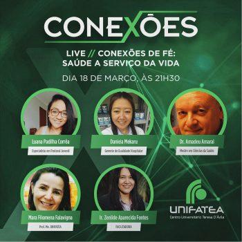 """Live """"Conexões"""