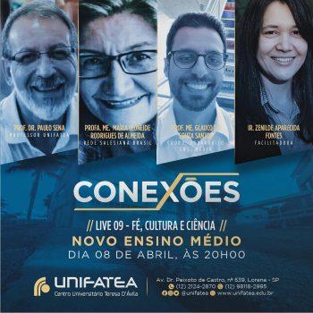 Live Conexões debate assuntos sobre Educação em sua 9° edição