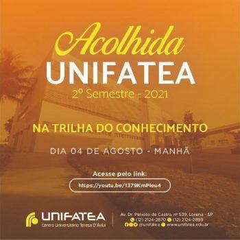 Programação da Acolhida UNIFATEA