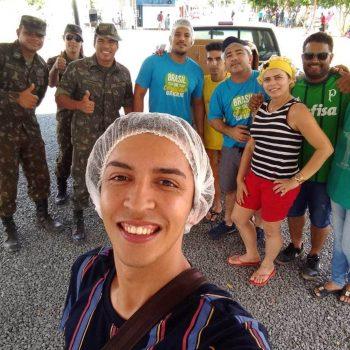 Pastoral Universitária do UNIFATEA ingressa voluntário para dar apoio a população venezuelana