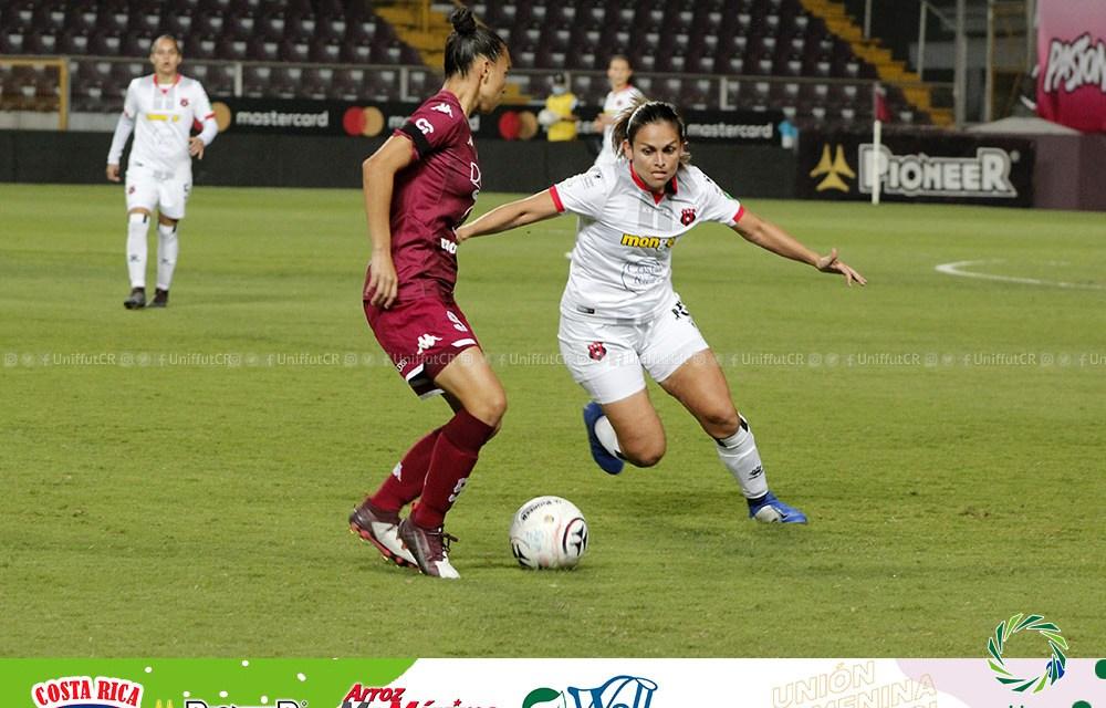 Saprissa vence a Alajuelense, Herediano empató con Sporting