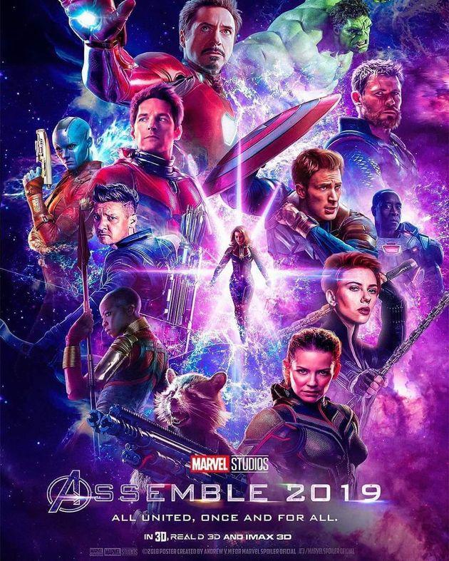 Avengers 4  L'affiche Des Fans  Unification France