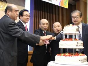屋島聖地決定50周年を記念しケーキカット