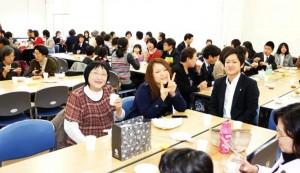 駿河区で行われたファミリー復興会(1月18日)