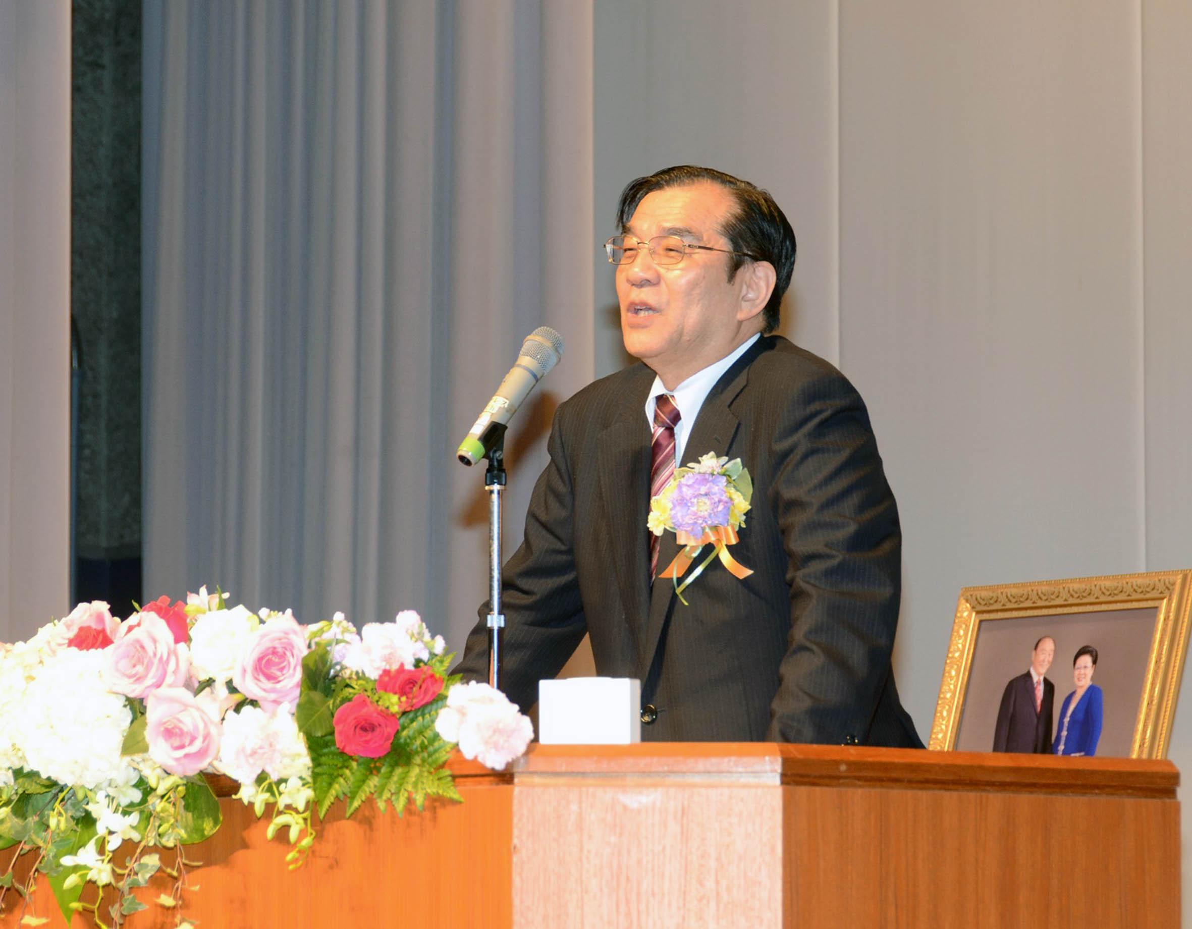 講演する浅川勇男先生|世界平和統一家庭連合 NEWS ONLINE
