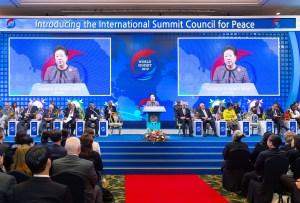 世界サミット2019にて、韓鶴子総裁が登壇し、み言を語られる|世界平和統一家庭連合News Online