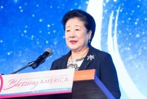 希望前進大会(米カリフォルニア州)で超宗教「祝福結婚式」を挙行 韓鶴子総裁|世界平和統一家庭連合News Online