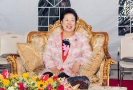 「秋夕節特別行事」での満月(スーパームーン)をご覧になる韓鶴子総裁2|世界平和統一家庭連合News Online