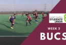 BUCS Weekly Roundup: Week 3