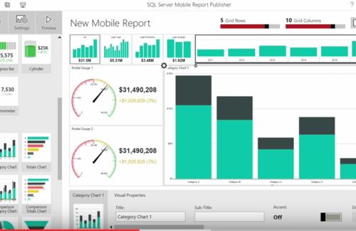 SQL Mobile Reports
