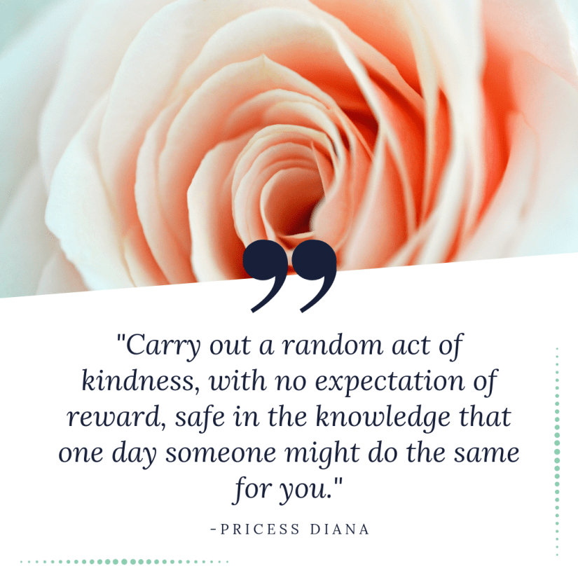 Diana Quote kindness
