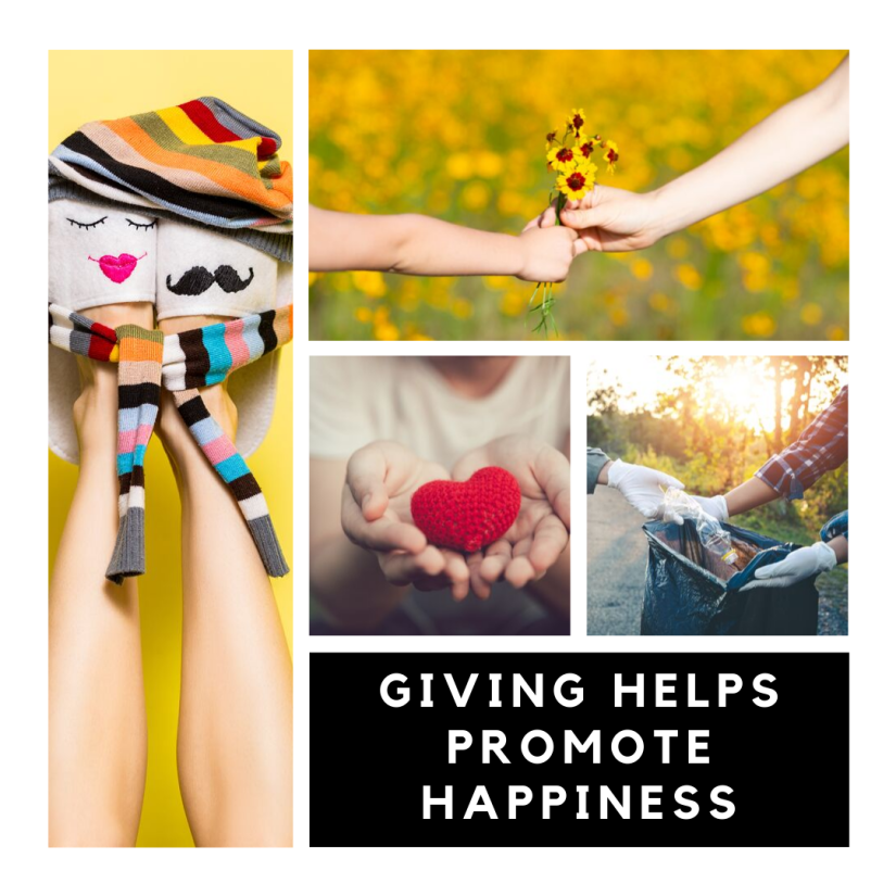 Giving Helps Promote Happiness