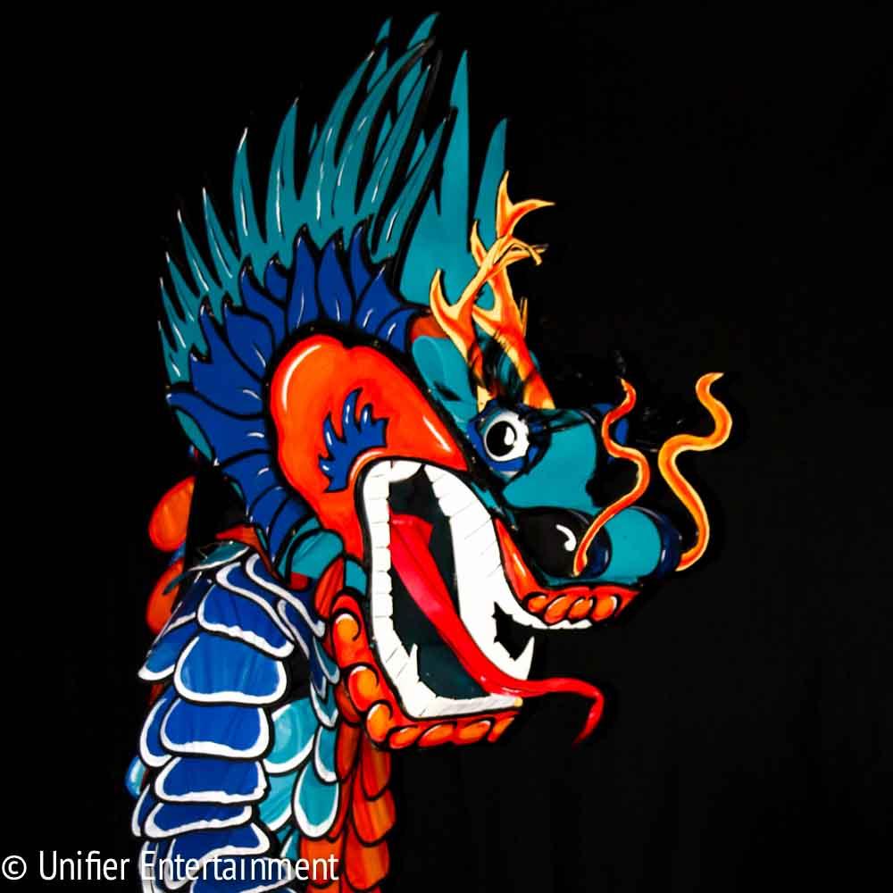 Blue Dragon Costume