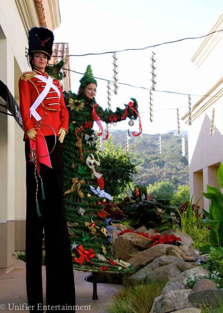 Christmas Tree Stilt Walker