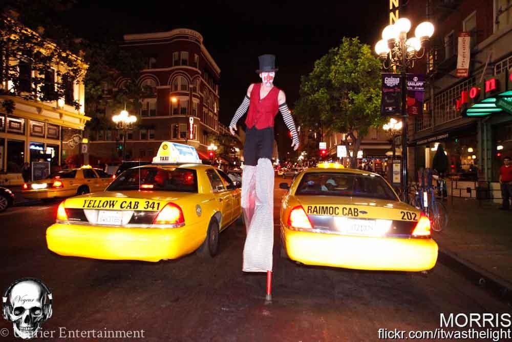 Circus Stilt Walker