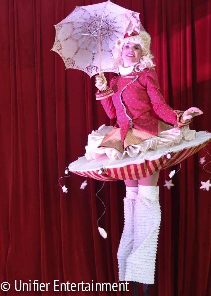 Cirque Performer Stilts