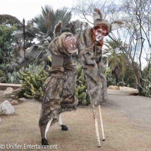 Female 4-legged Christmas Deer Costume