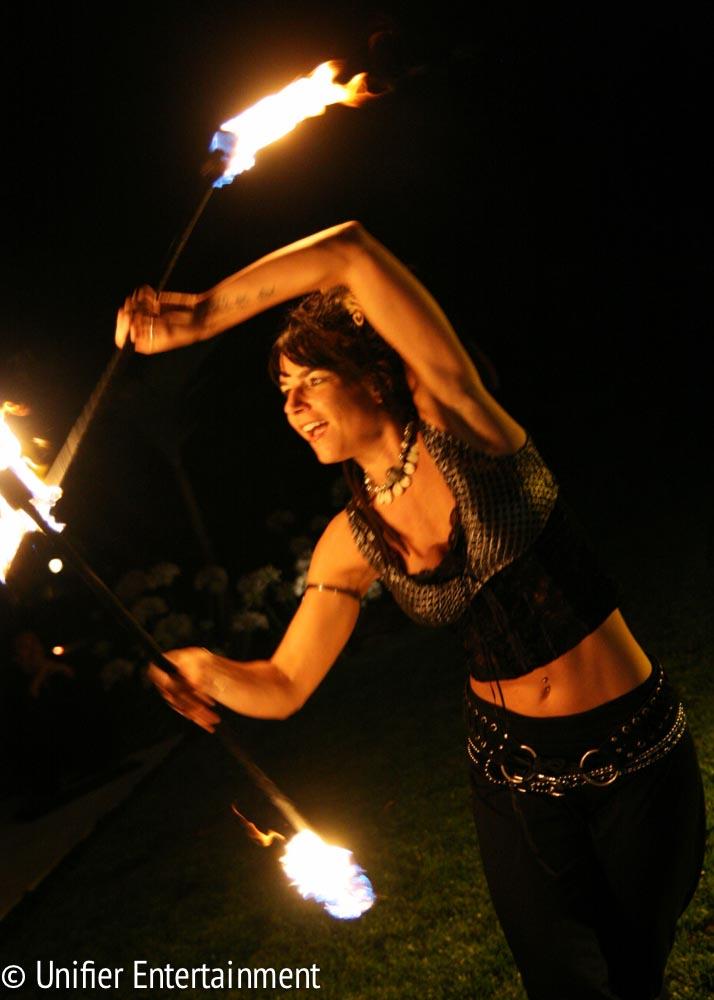 Fire Dancing Los Angeles