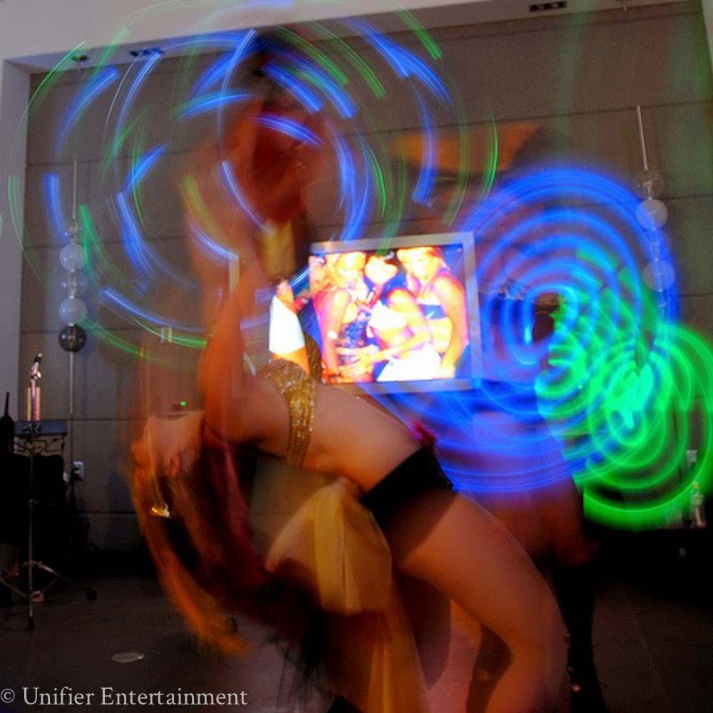 Mardi Gras Glow Dancing