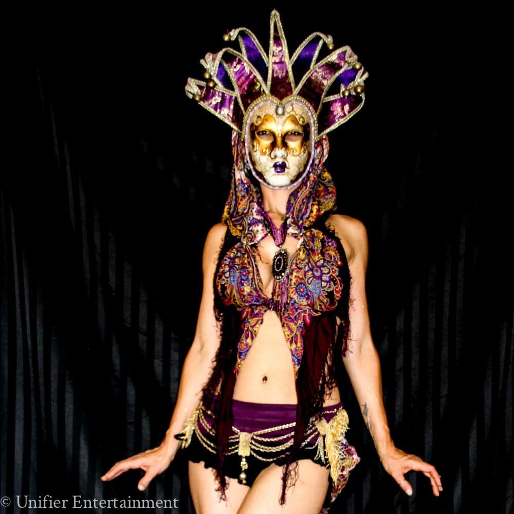 Mardi Gras Go Go Dancer