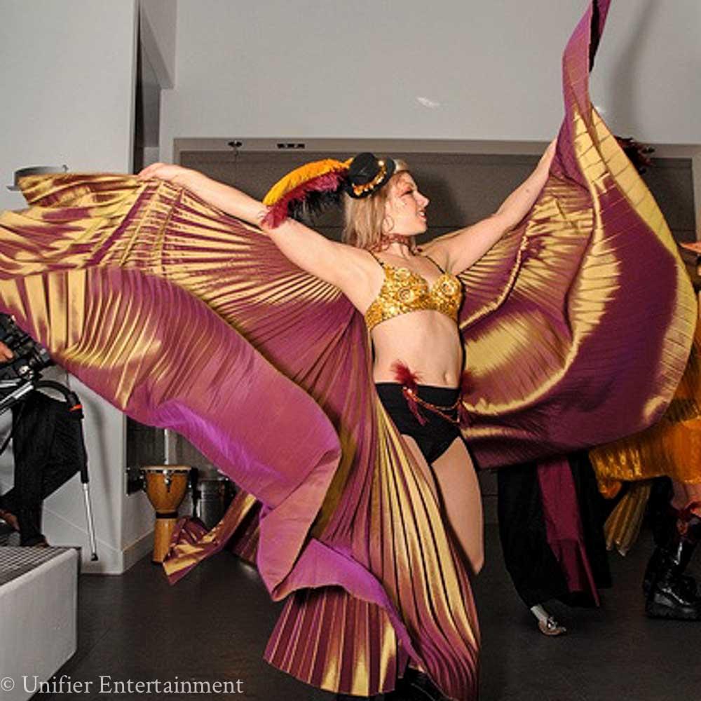 Mardi Gras Gossamer Wings