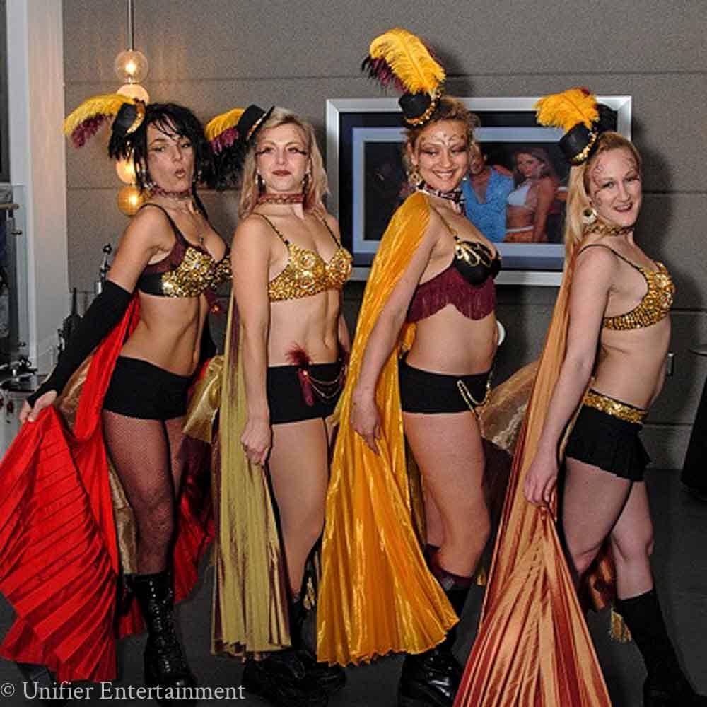 Mardi Gras Ladies