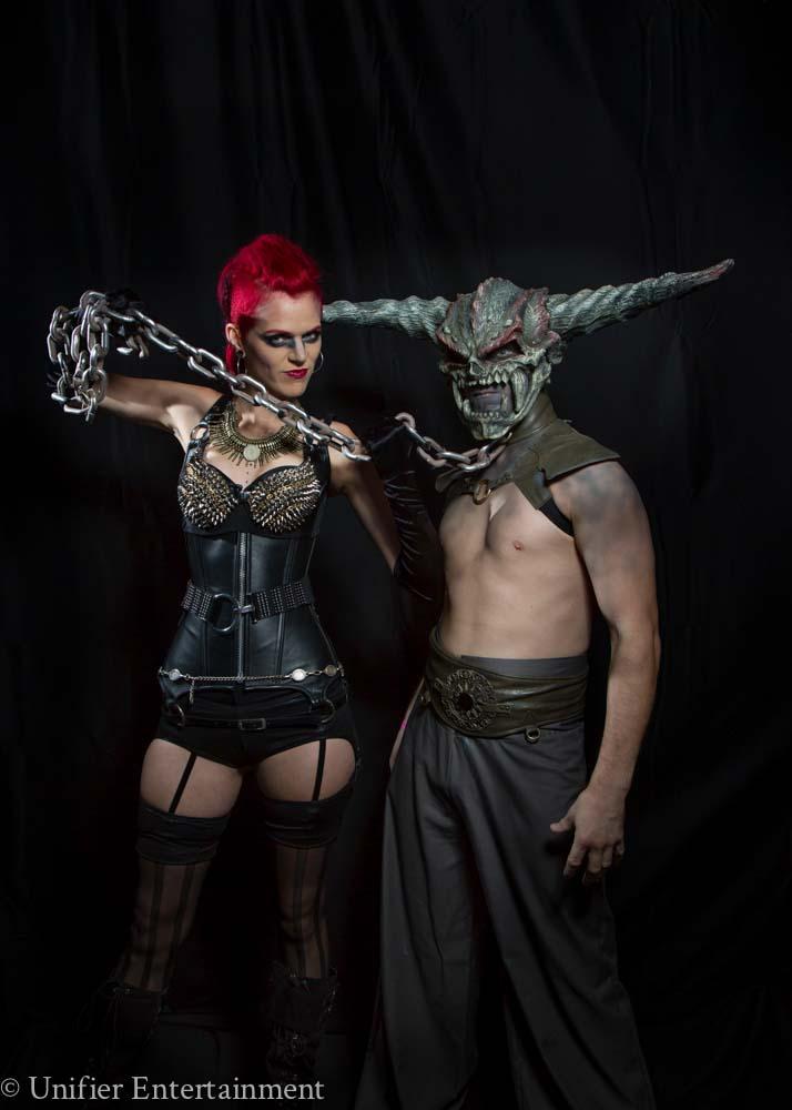Monster Dominatrix Halloween