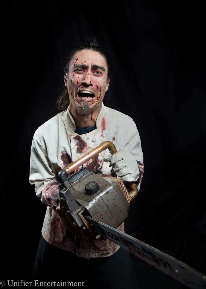 Psycho Chef Halloween Actor