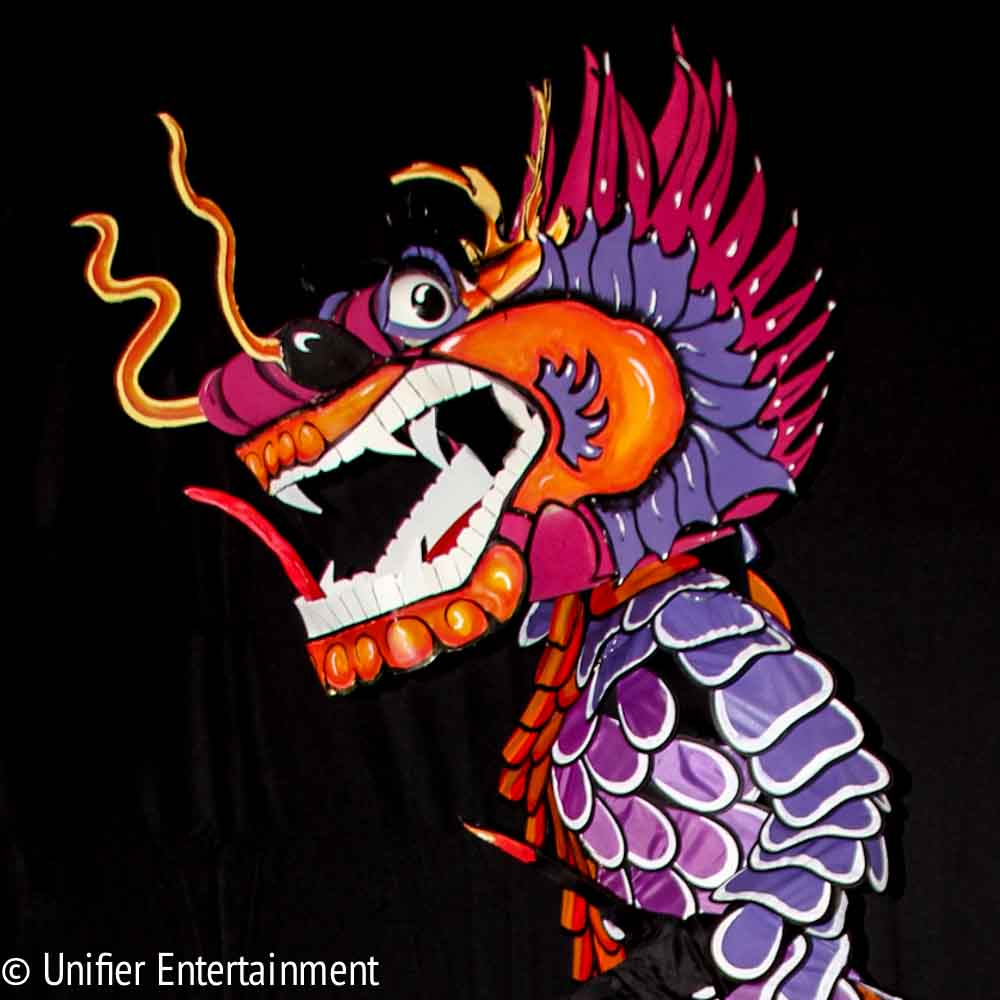 Purple Dragon Close Up
