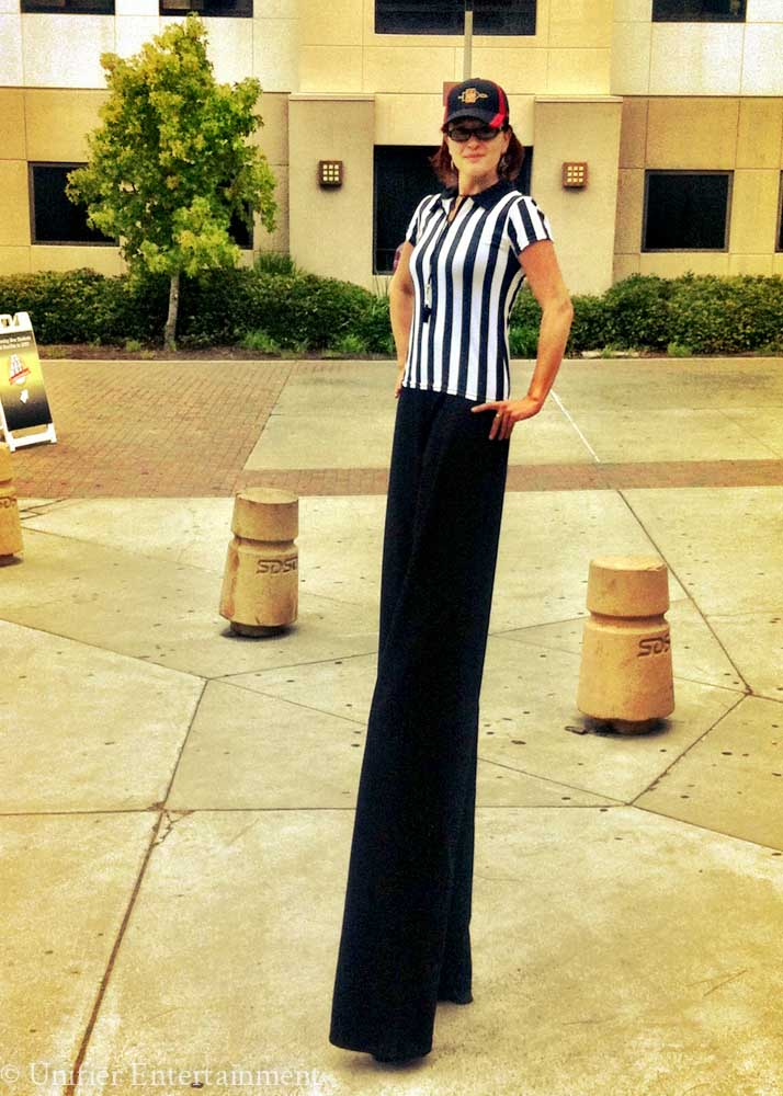 Referee Stilt Walker San Diego