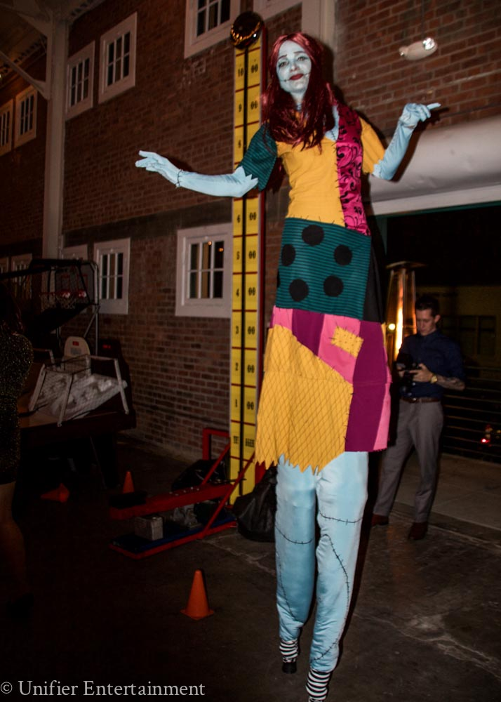 Sally Nightmare Stilt Walker