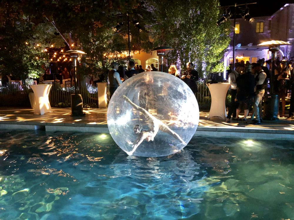 Pool Bubble Ball