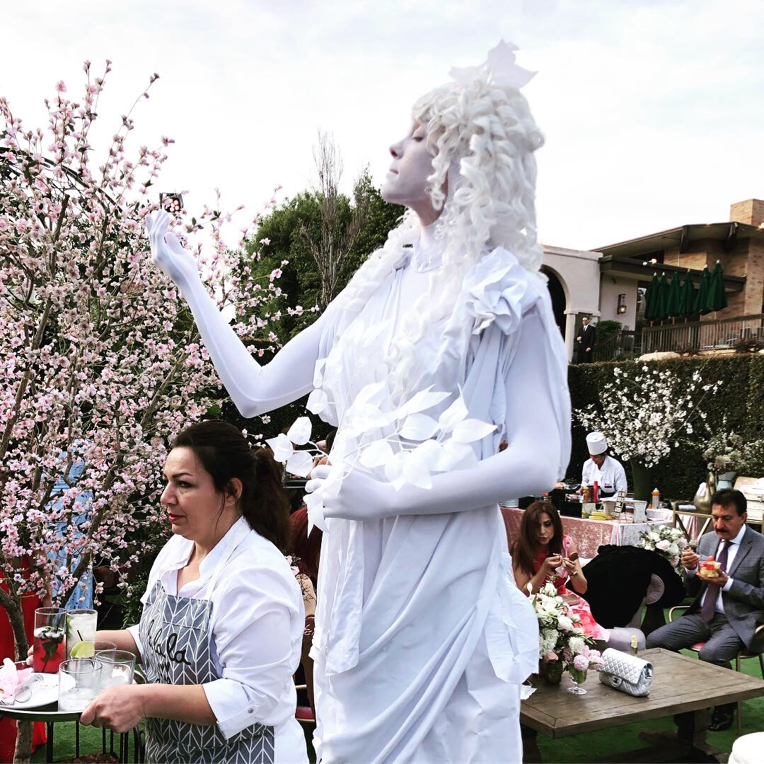 Greek Living Statue