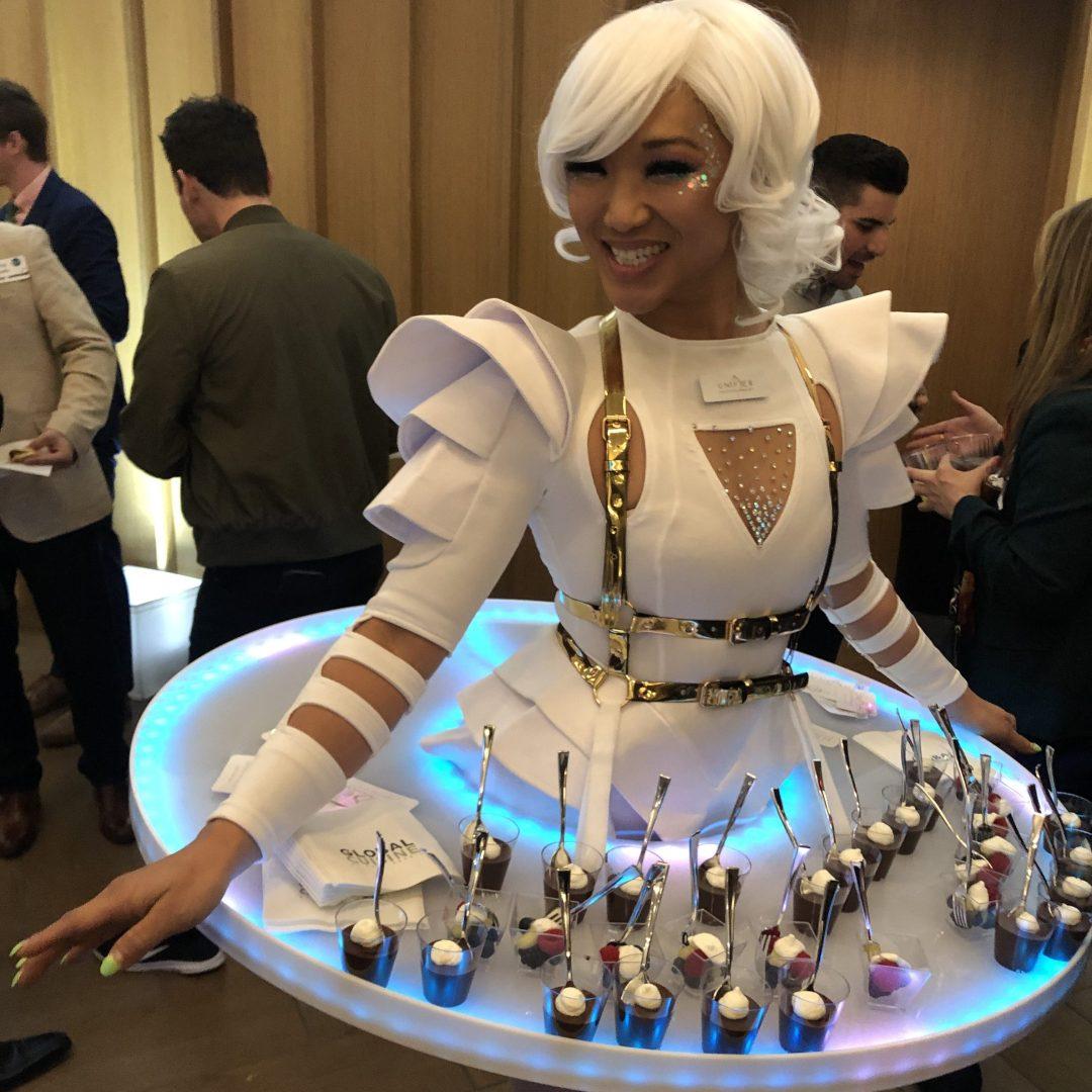 Light LED Service Tray Skirt