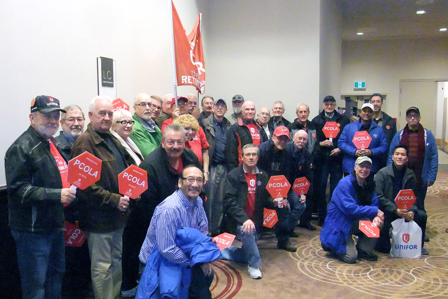 Unifor Ford Local 584 Retirees  News