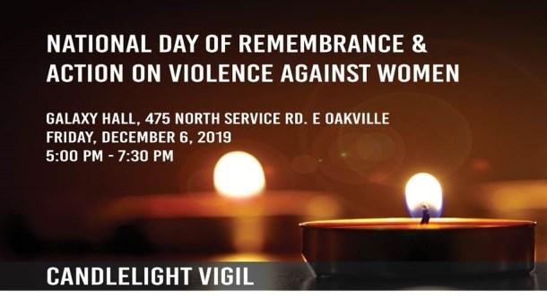 December 6th Candlelight Vigil