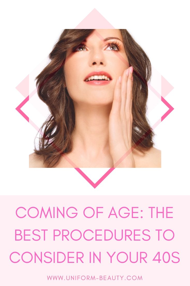 From laser skin resurfacing to surgical and non-surgical hair loss solutions, The AEDITION breaks down the best cosmetic treatments and procedures to try in your forties.|