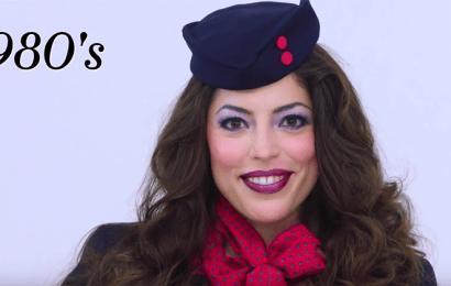原來以前的制服長這樣! 就讓影片帶我們回顧百年來的空服員制服演變史