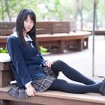 稻江護家制服 x 奶茶色日常 攝影: Kuraiya Ho